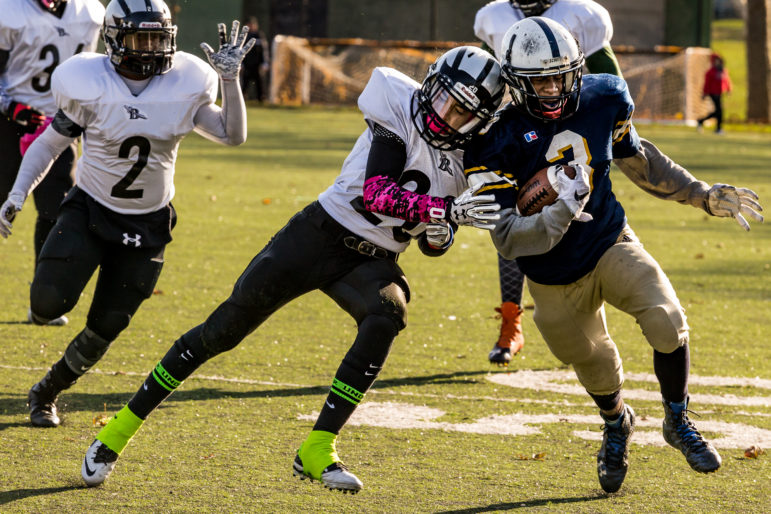 Youth Tackle Football Participation >> City Youth Football Teams Unfazed By Study S New Concussion Alarm