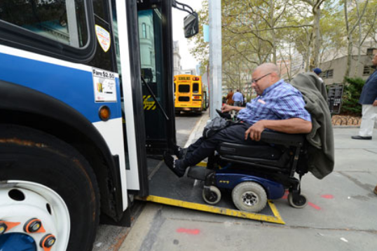 city buses are wheelchair accessible but disabled riders still face