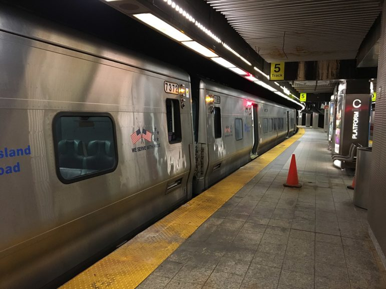LIRR train at Atlantic Terminal