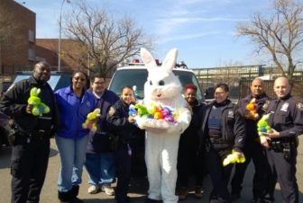 Easter Bunny with Cops