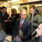 Mayor Mike on the Subway