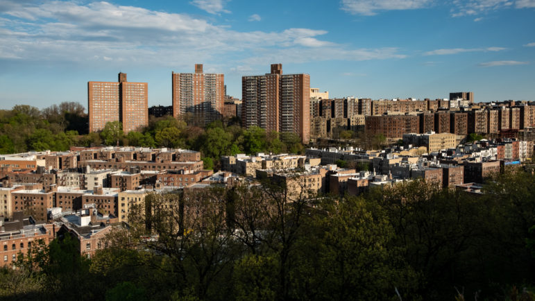 Washington Heights from Tryon Park
