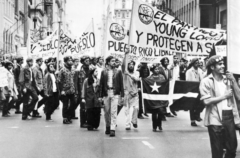 Young Lords march 1970