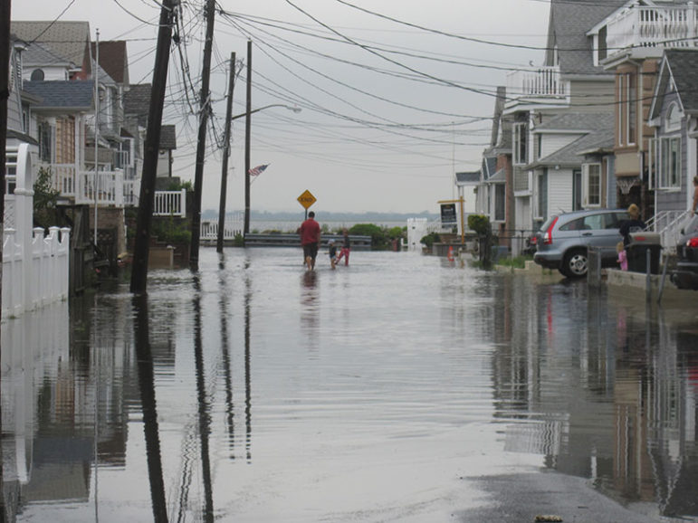 flooding in Broad Channel