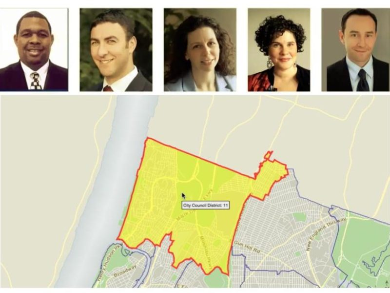 11 district candidates