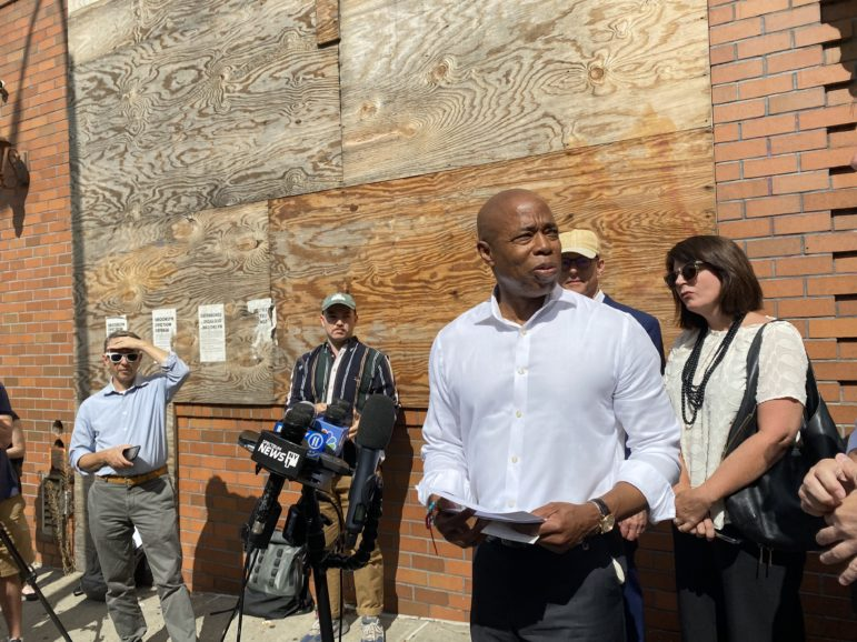Eric Adams Touts Hotel Conversions in Plan to Tackle NYC Homelessness